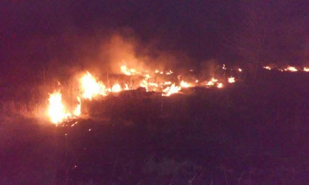 За добу пожежні 10 разів гасили  загоряння на відкритих територіях, фото-1