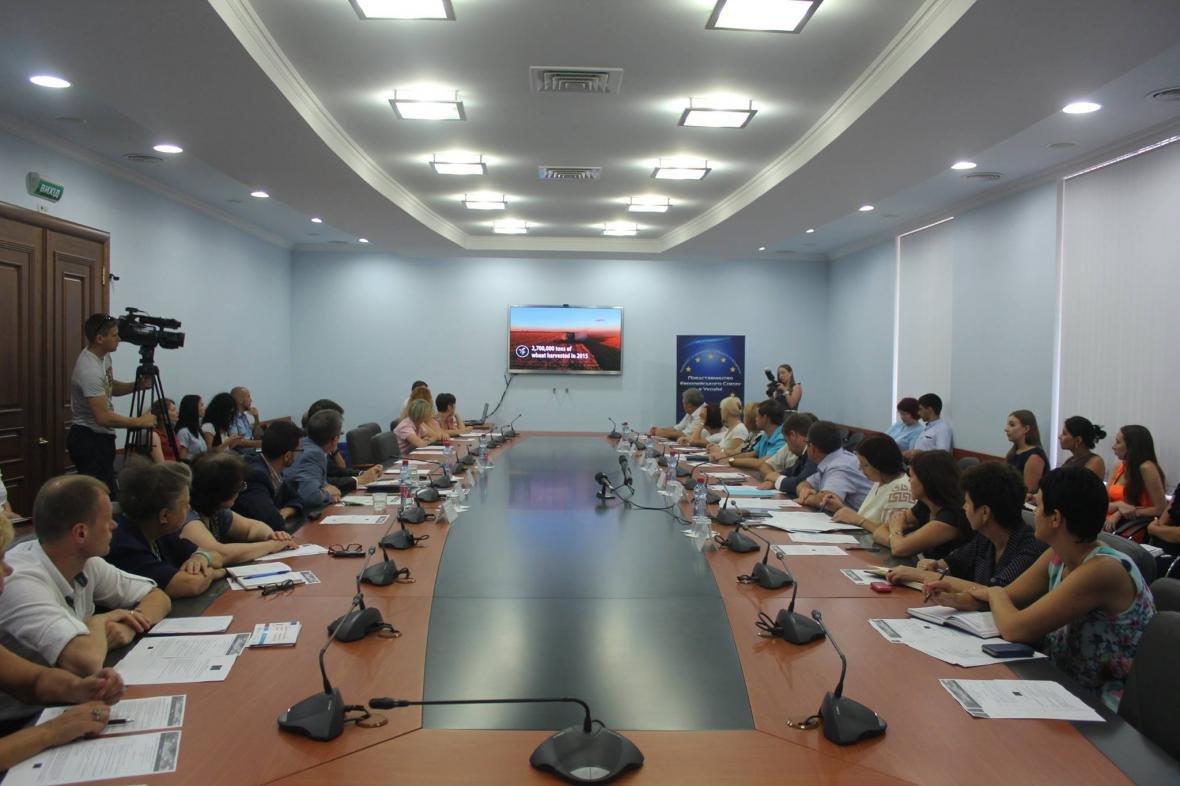 Голова Херсонської ОДА зустрівся з Представництвом Європейського Союзу в Україні, фото-1