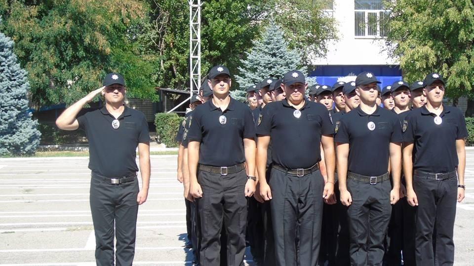 У Херсоні 27 слідчих склали Присягу поліцейського на вірність Українському народові, фото-1