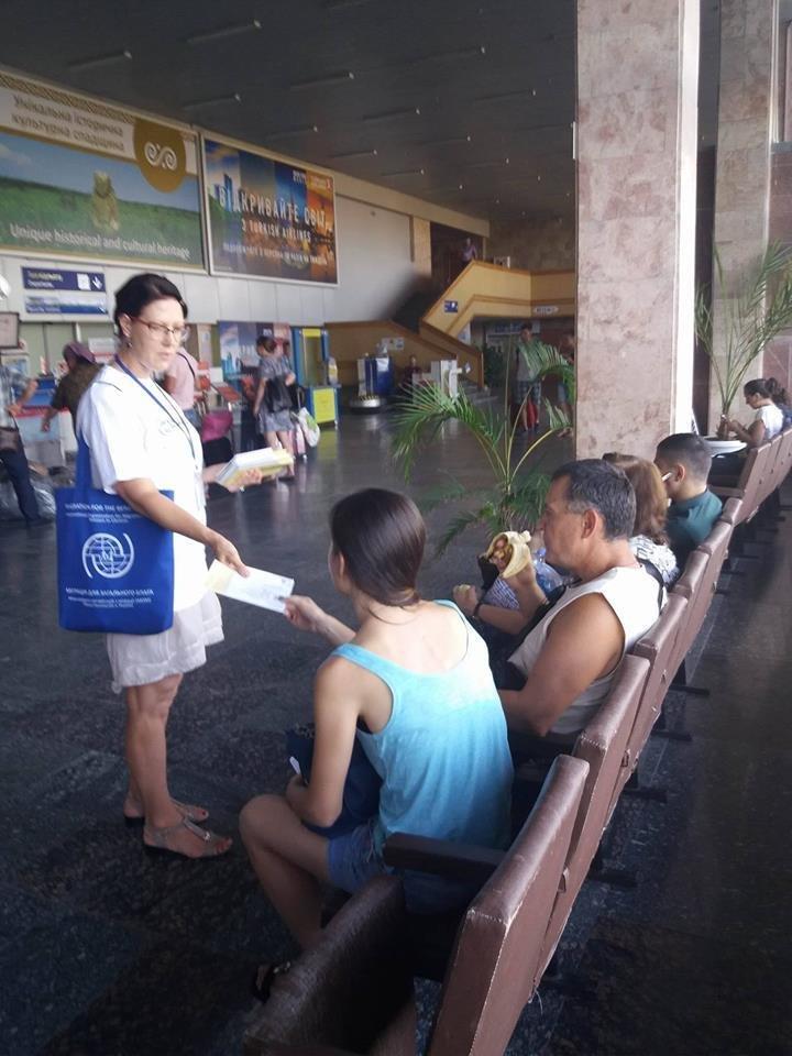 В херсонском аеропорту рассказали о рабстве и торговле людьми, фото-3