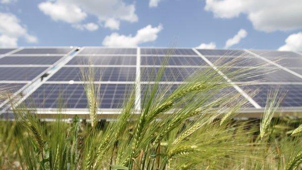 На Херсонщине ввели в эксплуатацию солнечную электростанцию, фото-1