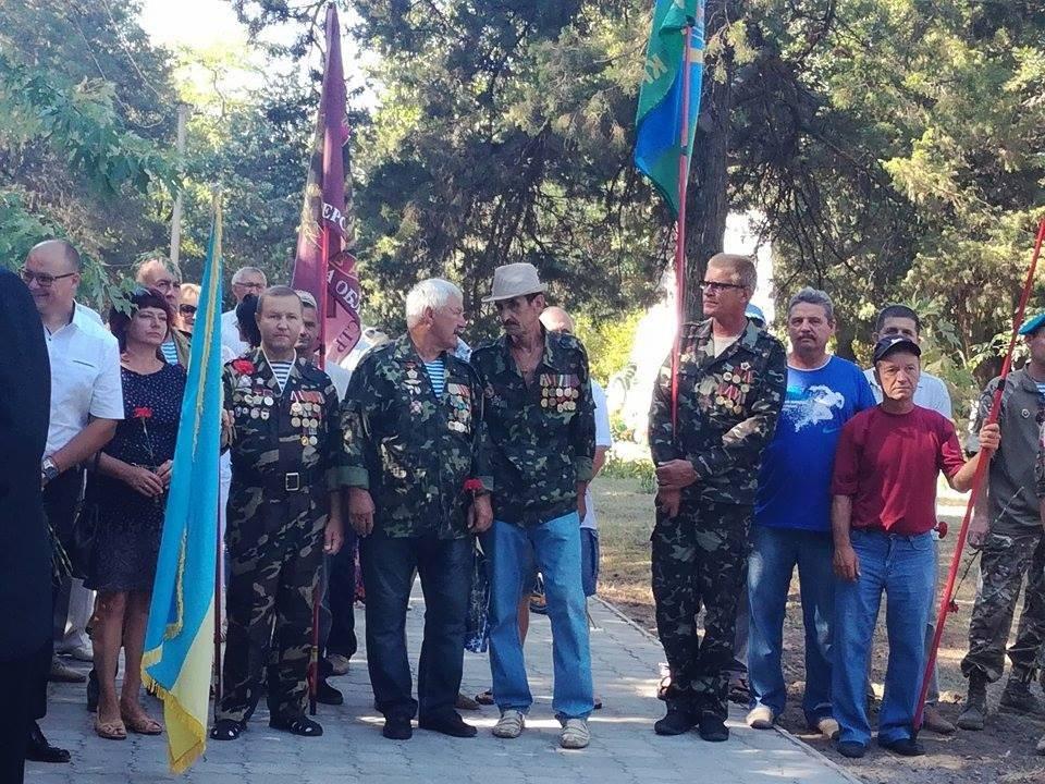 На Херсонщине открыли памятник ветеранам Афганистана, фото-4