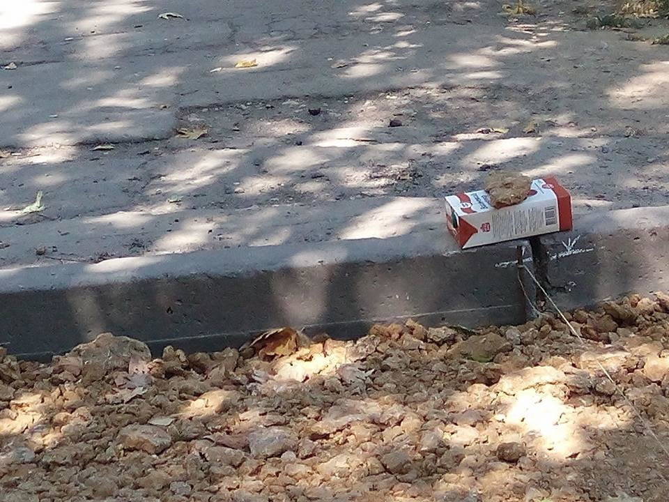Херсонцы ремонтируют дороги за свои средства, фото-2