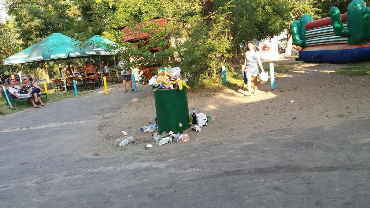 """Херсонка о санитарном состоянии пляжа в """"Гидропарке"""", фото-2"""