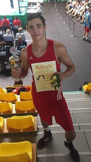 Херсонский боксер выборол победу в Германии, фото-1