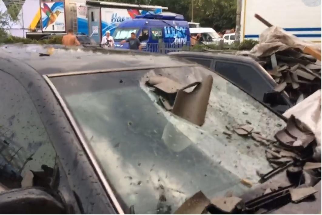На Херсонщине после дождя обвалилась крыша, фото-2