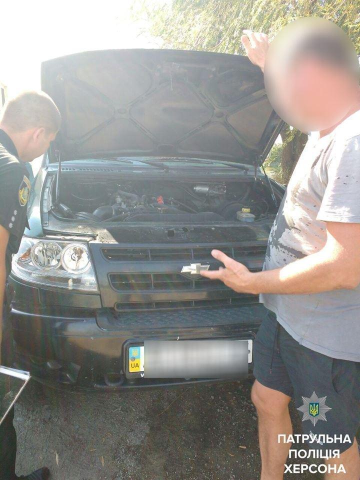 Патрульні виявили автомобіль, що перебував у розшуку, фото-2