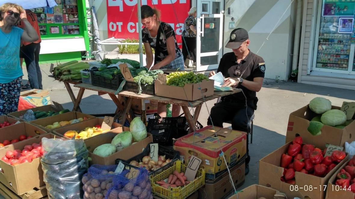 В Херсоне продолжают бороться со стихийной торговлей, фото-1