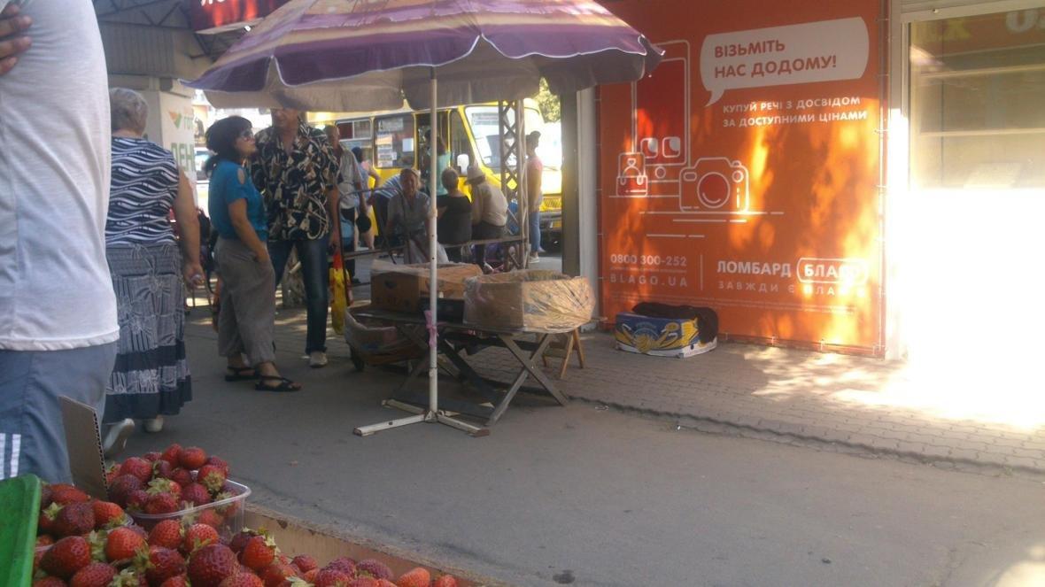 В Херсоне продолжают бороться со стихийной торговлей, фото-2
