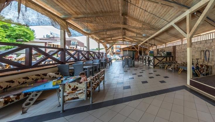 Горячие цены на проживание в пансионате Bliss в Железном Порту, фото-1