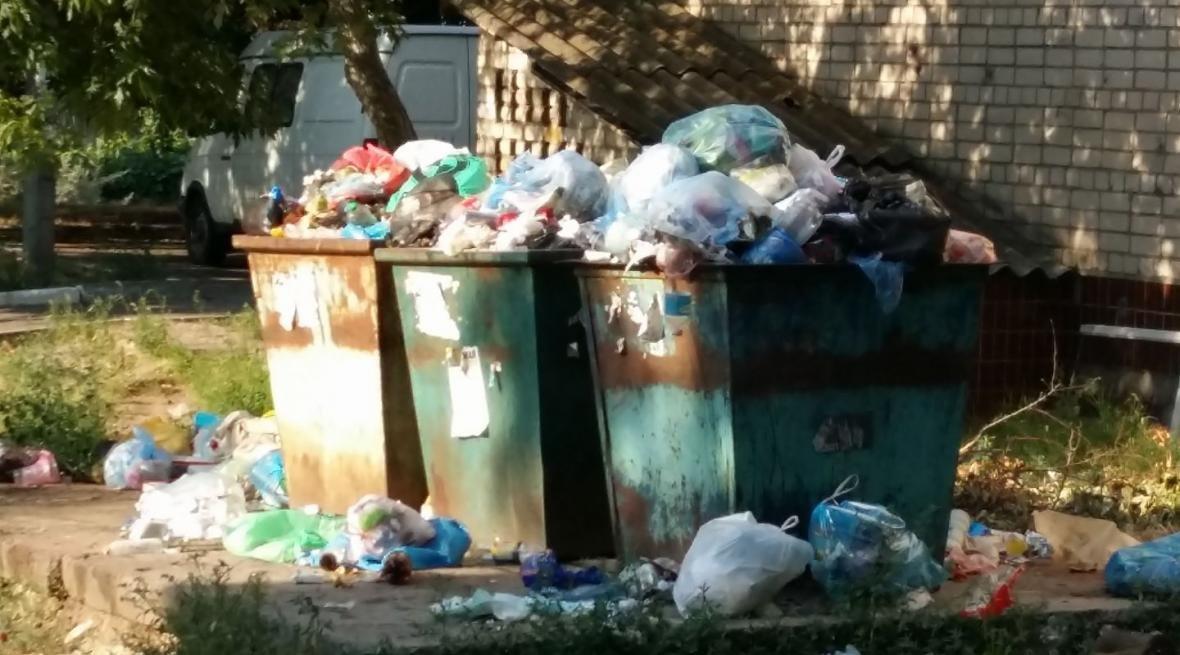 Райцентр Херсонщины утопает в мусоре. Власти уверяют, что проблему решают, фото-2
