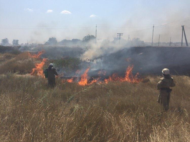 Минулої доби вогнеборці 33 рази виїжджали на гасіння пожеж сухостою, фото-1