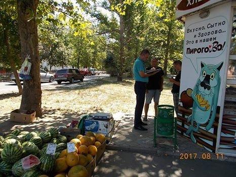 На херсонских торговцев составили 3 административных протокола, фото-1