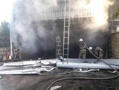 У Білозерському районі рятувальники ДСНС ліквідували пожежу у 3- поверховому приватному будинку, фото-2