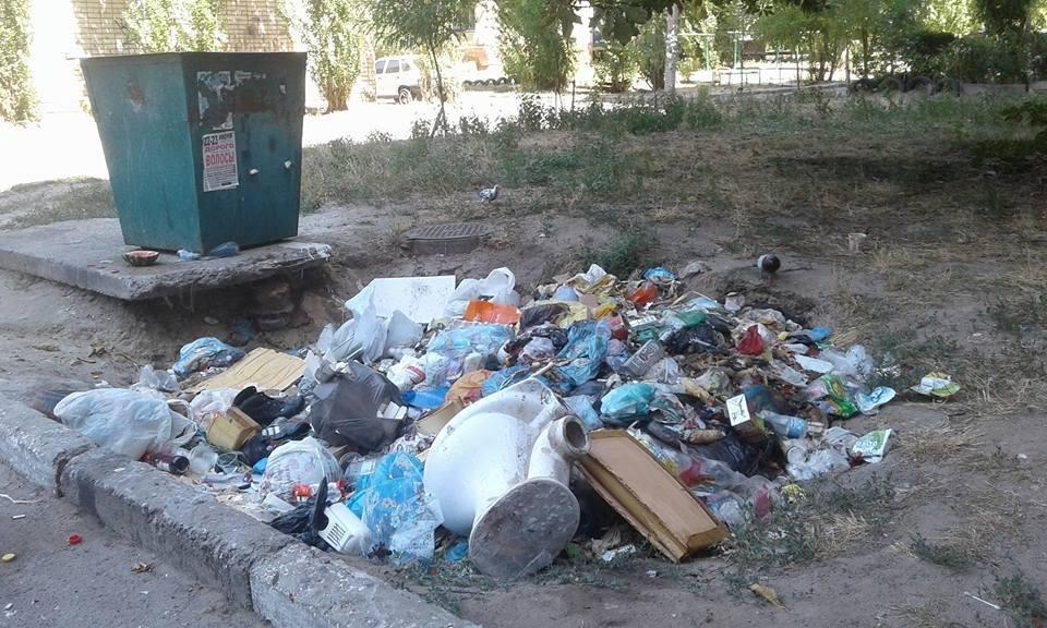 Херсон на грани мусорного коллапса?, фото-1