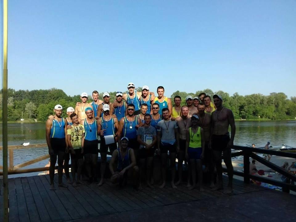 Херсонские гребцы заняли третье место на командном чемпионате Украины, фото-1