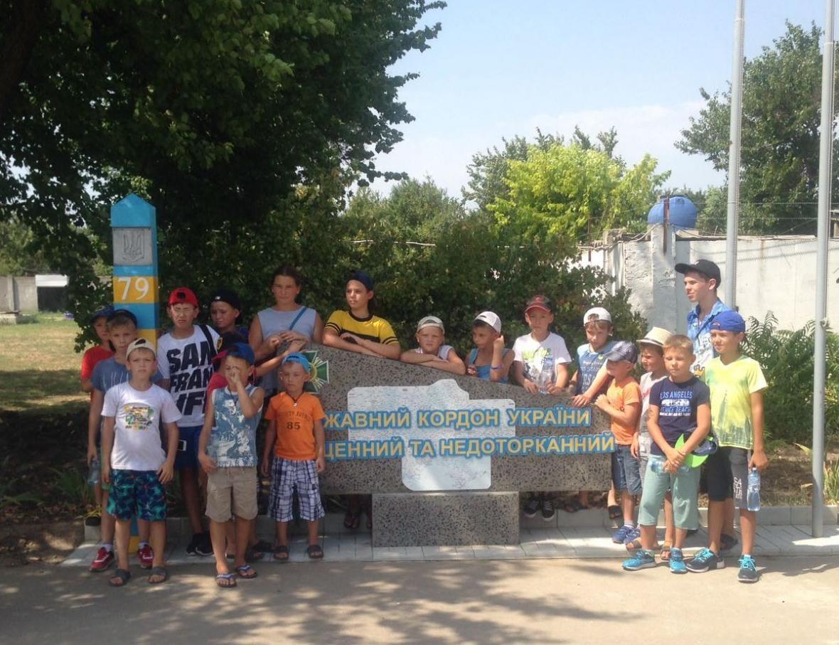 Діти завітали до прикордонників відділу «Скадовськ» , фото-1