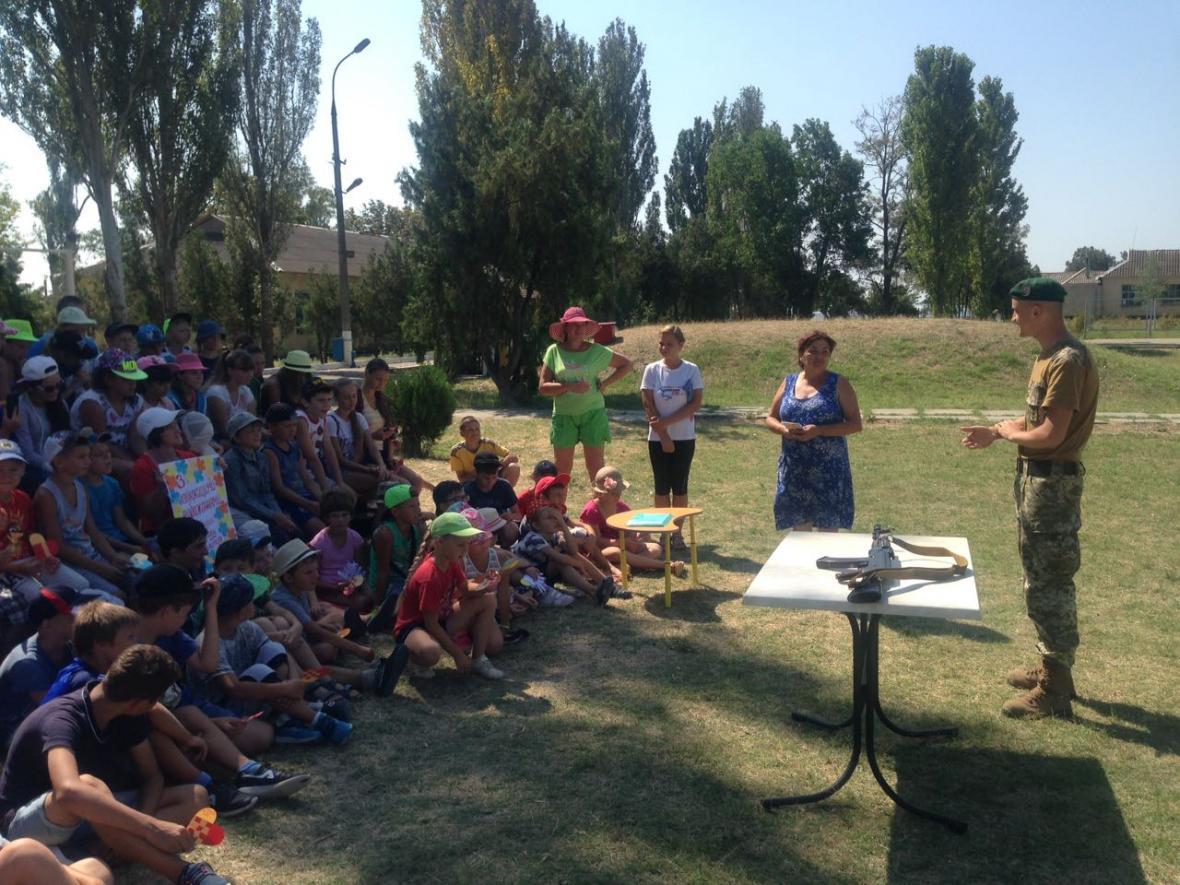 Діти завітали до прикордонників відділу «Скадовськ» , фото-3