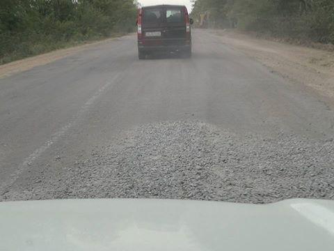 Херсонщина встречает автомобилистов ужасными дорогами, фото-1