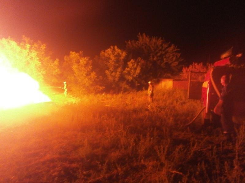 Нижньосірогозькі вогнеборці двічі виїжджали на гасіння пожеж і загорянь, фото-1