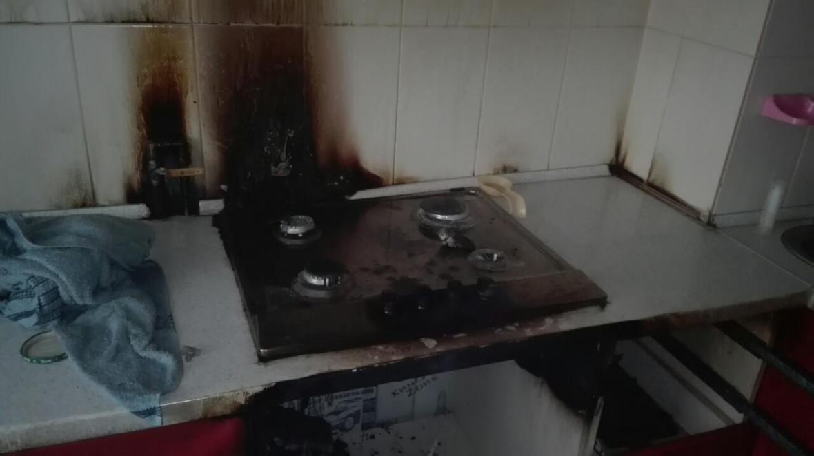 Рятувальники ліквідували пожежу у квартирі в багатоповерховому будинку, фото-2