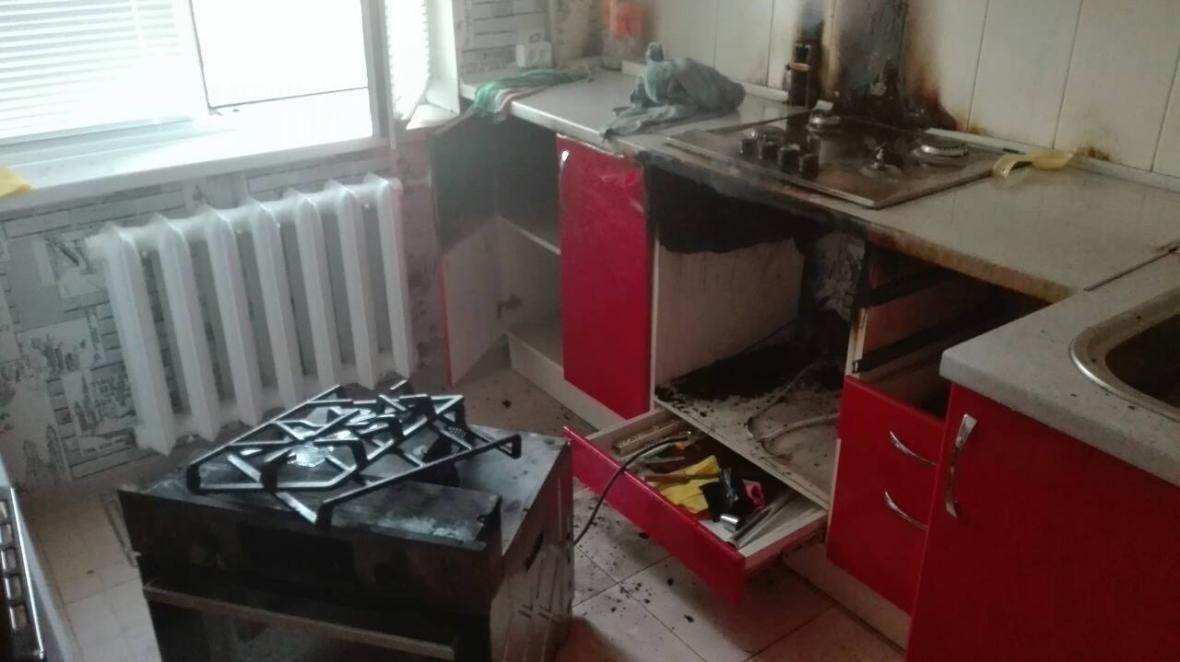 Рятувальники ліквідували пожежу у квартирі в багатоповерховому будинку, фото-1