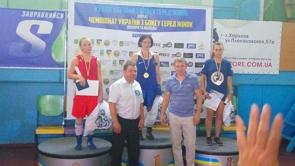 Херсонские спортсменки привезли медали с Кубка Украины по боксу, фото-6