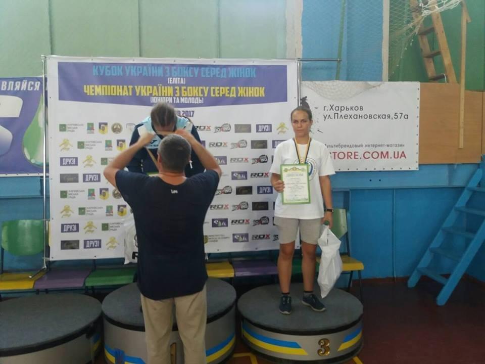 Херсонские спортсменки привезли медали с Кубка Украины по боксу, фото-8