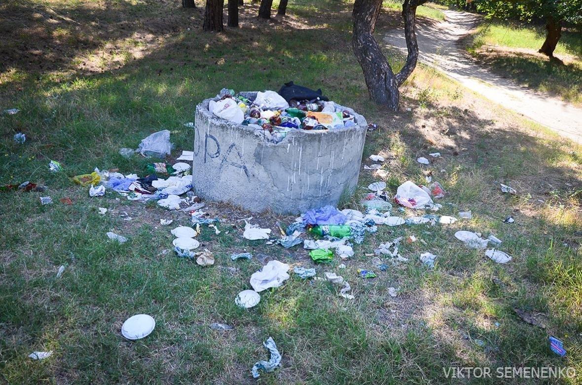 На Херсонщине, готовясь к празднику, забыли про вывоз мусора, фото-3