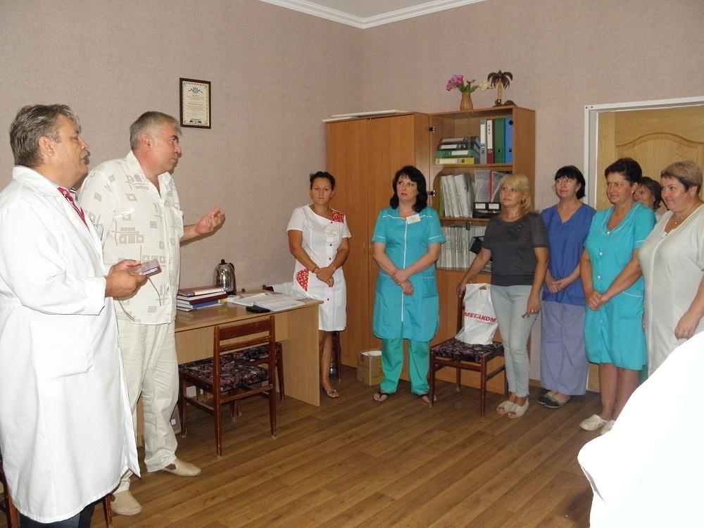 Головний лікар обласної лікарні «Хоспіс» отримав відзнаку, фото-2