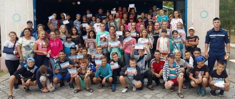 """У """"Безпечне літо"""" з рятувальниками відправилися діти в оздоровчому таборі на Чорноморському узбережжі, фото-1"""