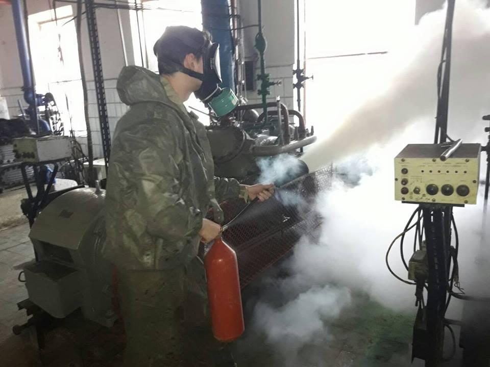 На херсонському маслозаводі відбулось спеціальне об'єктове тренування, фото-1