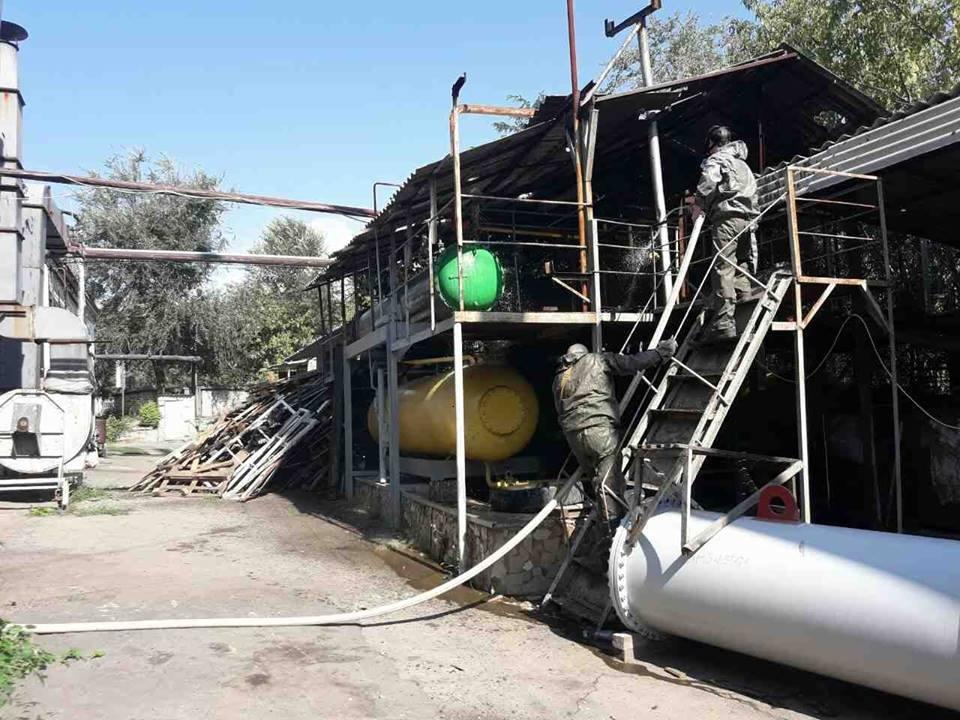 На херсонському маслозаводі відбулось спеціальне об'єктове тренування, фото-2