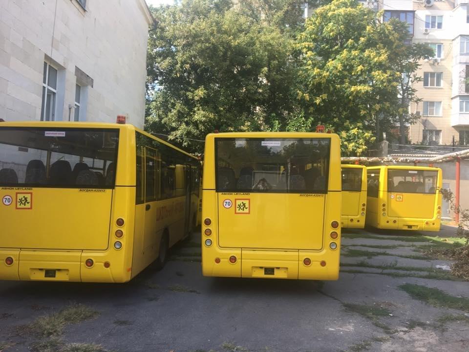 На Херсонщину прибула чергова партія шкільних автобусів, фото-2