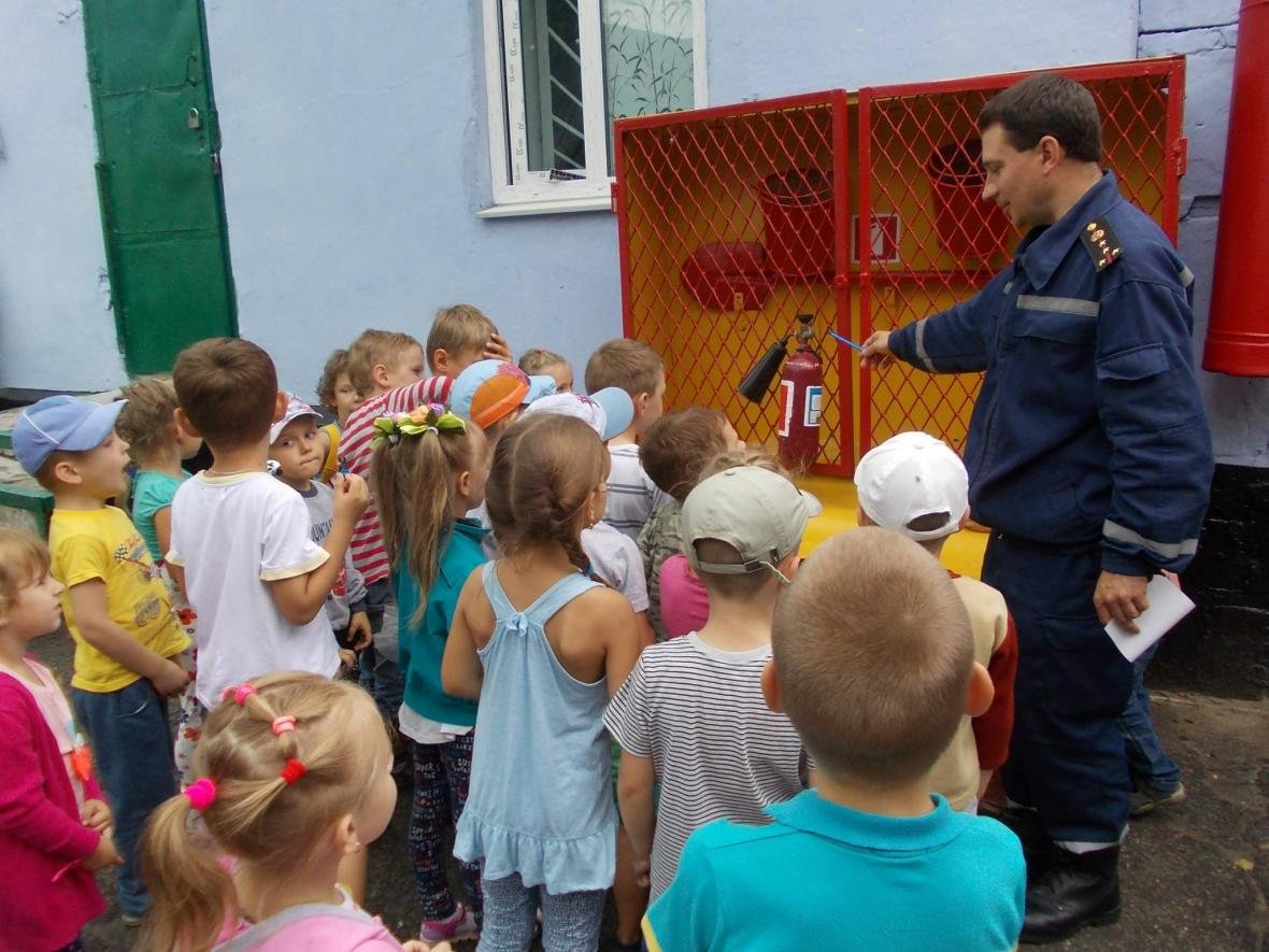 Рятувальники завітали до дітей, фото-1