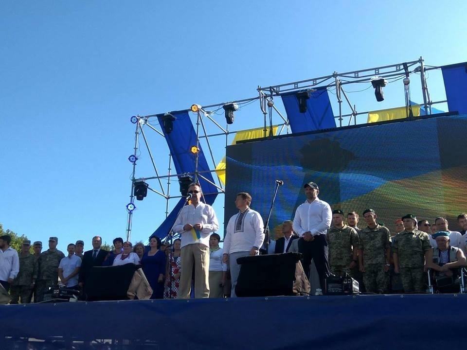 В Херсоне отметили День Независимости Украины, фото-1