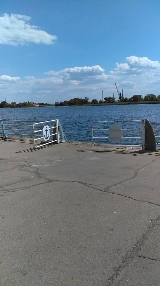 Херсонцев поджидает опасность на городской набережной, фото-1