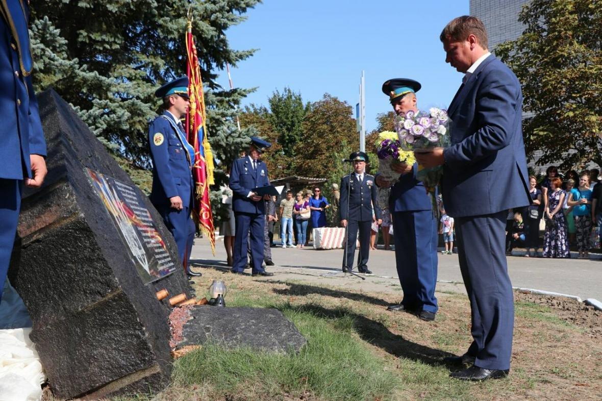 Андрій Гордєєв привітав з 55-ю річницею з Дня створення військову частину А1604, фото-1