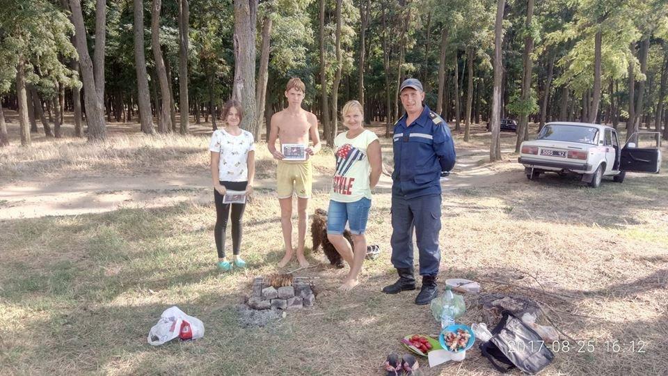 Рятувальники Херсонщини проводили роз'яснення щодо безпеки відпочиваючих, фото-2