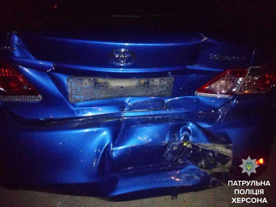 П'яний водій спричинив ДТП у Херсоні, фото-1