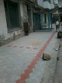 В Херсоне руководство одного из ОСМД нелегально строит парковки, фото-1