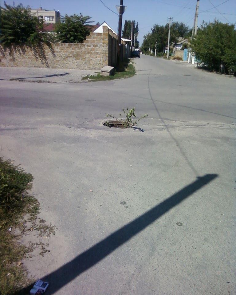 На Херсонщине снова воруют крышки люков (фото), фото-2