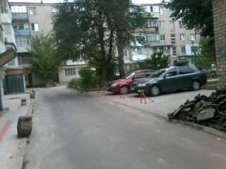 В Херсоне руководство одного из ОСМД нелегально строит парковки, фото-3