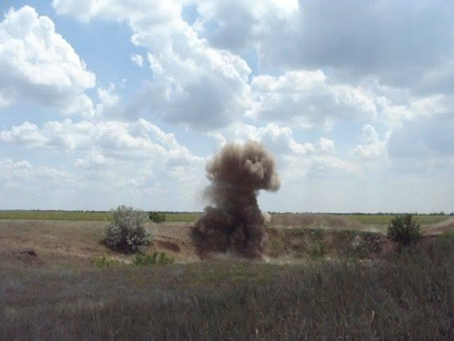 Рятувальники знищили знайдені артснаряди, фото-2