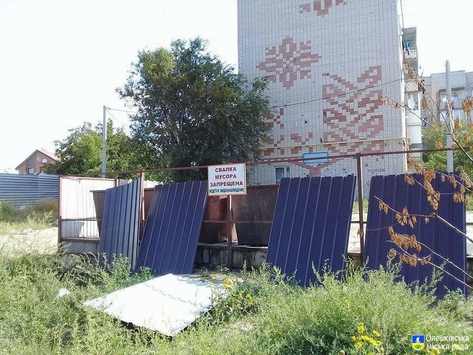 Один из райцентров Херсонщины вводит раздельный сбор мусора, фото-1