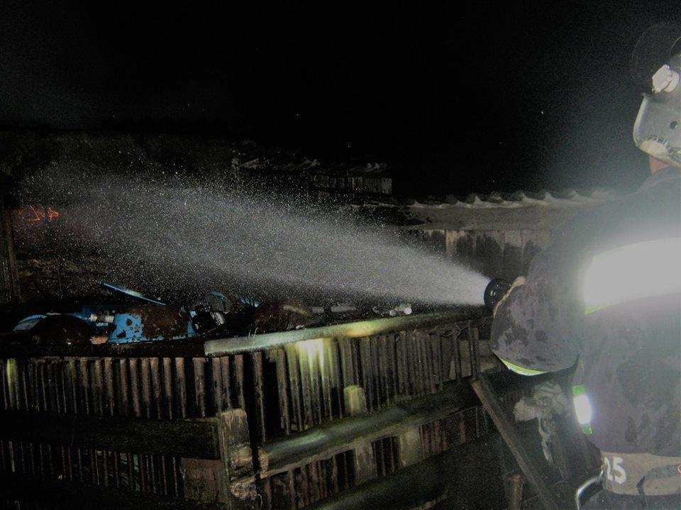 На Херсонщині горів трансформатор, фото-1