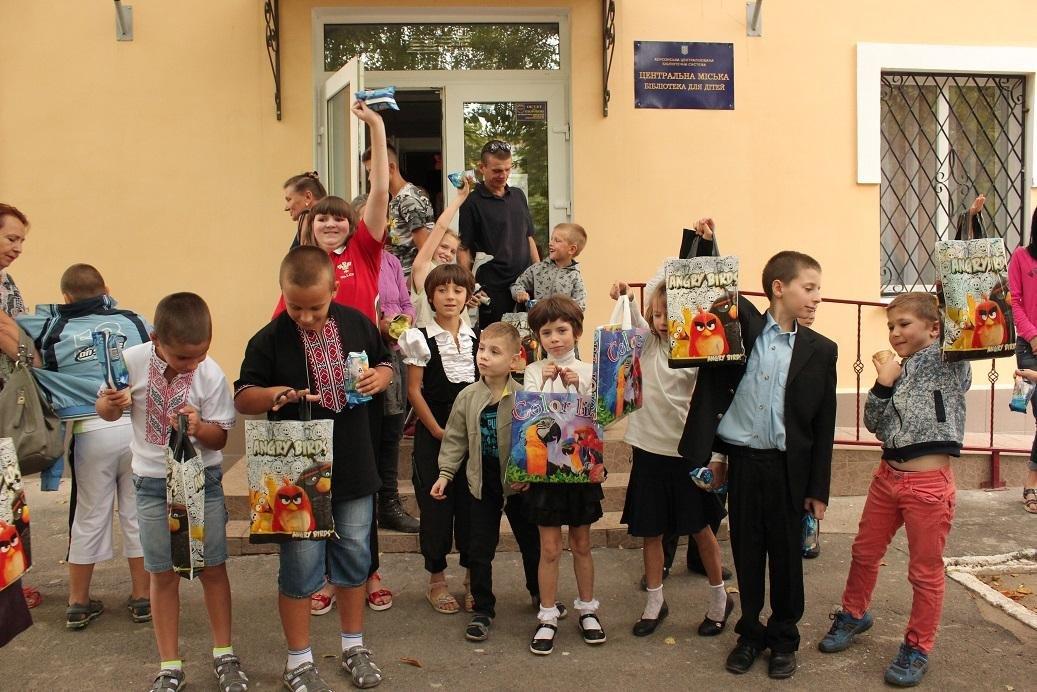 День добрих справ у Херсонській центральній дитячій бібліотеці, фото-1