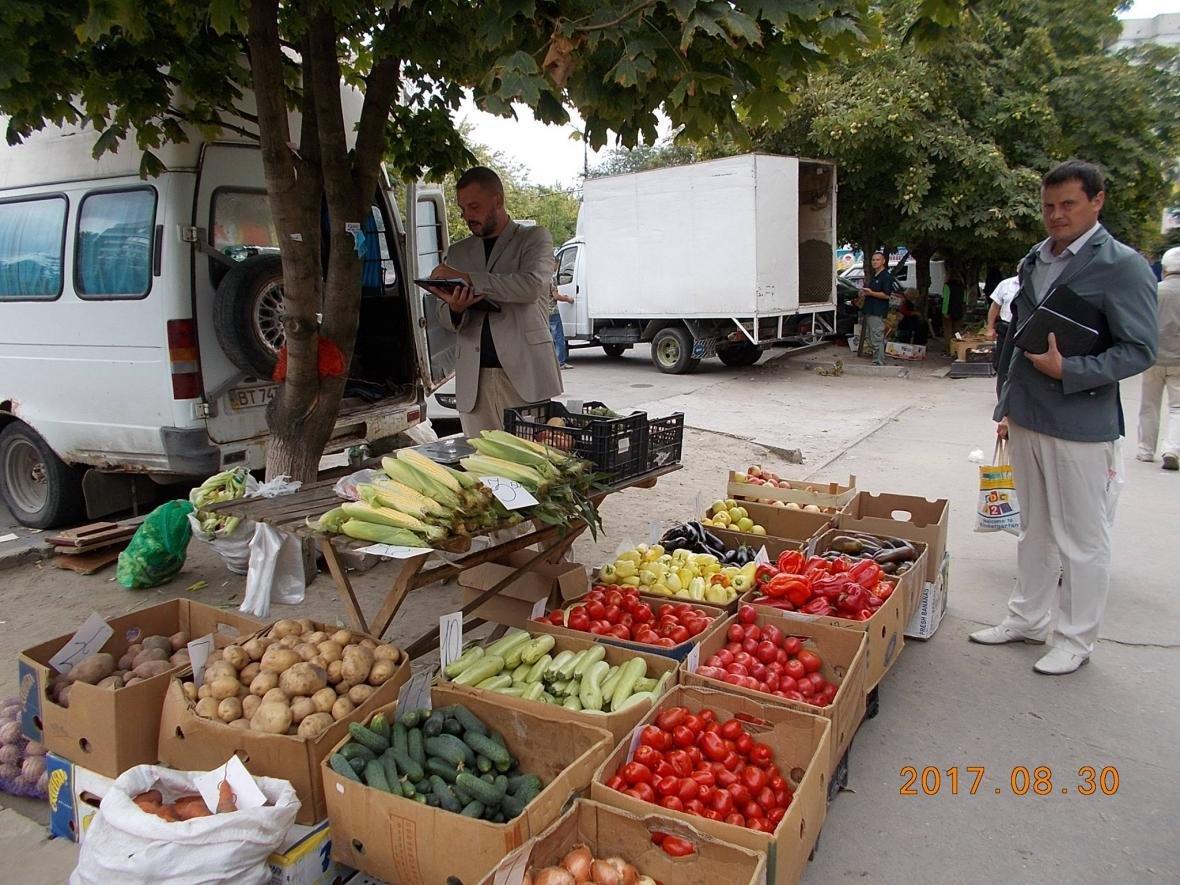 Черговий рейд з ліквідації стихійної торгівлі провели у Херсоні, фото-1