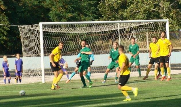 На Херсонщине состоялся матч второй футбольной лиги Украины, фото-1