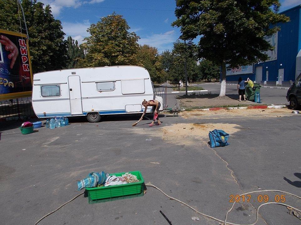 Цирк, который возмутил херсонцев, покинул город, фото-1